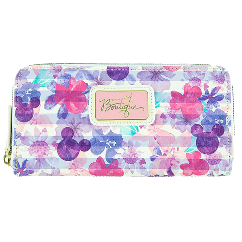 759efc0422e Disney Boutique Wallet - Mickey Icon Floral by Loungefly