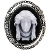 Disney Brooch Pin - Haunted Mansion Sculpted Madame Leota