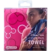 Disney Cooling Towel - Pink Mickey Icon Towel by Coolcore