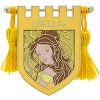 Disney Pin - Princess Belle Crest Banner with Tassels