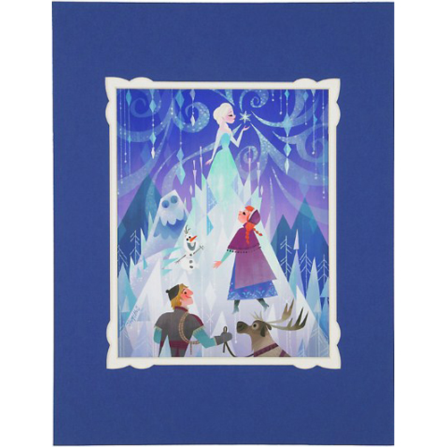 Disney Deluxe Artist Print - A Sister's Journey by Joey Chou