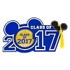 Disney Magnet Photo Frame - Graduation Class of 2017