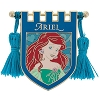 Disney Pin - Princess Ariel Crest Banner with Tassels