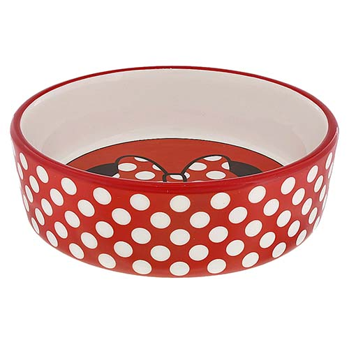 Dishes, Feeders & Fountains Cat Supplies Black Paw Dog Bowl With White Bowl And Black Dots