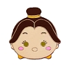 Disney Mystery Pins - Beauty and the Beast - Tsum Tsum - Belle