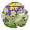 Disney First Day of Spring Pin - 2017 Naveen