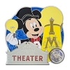 Disney Piece of WDW History Pin - #7 Town Square Theater