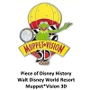 Disney Piece of WDW History Pin - Muppet Vision 3D