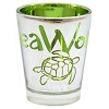 Seaworld - Shot Glass - Metallic - Green - Turtle