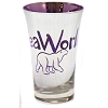 Seaworld - Tall Shot Glass - Metallic - Purple - Polar Bear
