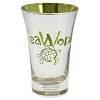 Seaworld - Tall Shot Glass - Metallic - Green - Sea Turtle