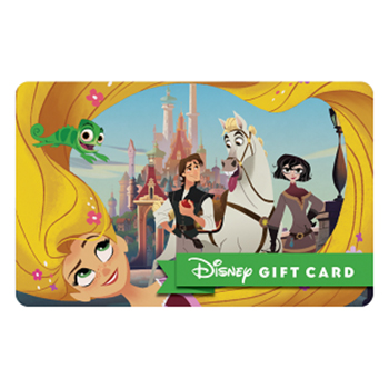 Disney Collectible Gift Card - Tangled: The Series