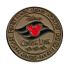 Disney Cruise Line Pin - Coin Logo