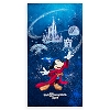 Disney Beach Towel - 2017  Walt Disney World - Sorcerer Mickey Mouse