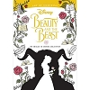 Disney Adult Coloring Book - Art of Coloring Beauty and the Beast