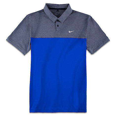 77678463 Add to My Lists. Disney Adult Shirt - Mickey Mouse Polo by Nike Golf - Blue  Grey