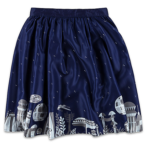 disney ladies skirt star wars galaxy by star wars boutique. Black Bedroom Furniture Sets. Home Design Ideas