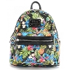 Disney Loungefly Mini Faux Leather Backpack - Stitch Pineapples