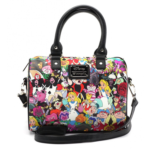 dd414feda2c Disney Loungefly Crossbody Bag - Alice in Wonderland Characters