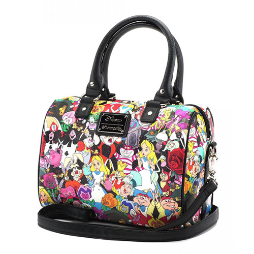 033194030ef Disney Loungefly Crossbody Bag - Alice in Wonderland Characters. Hover to  zoom