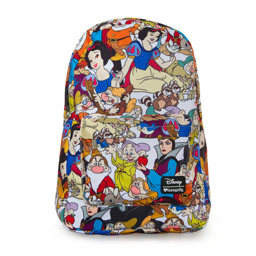 Your Wdw Store Disney Loungefly Backpack Snow White Character Print