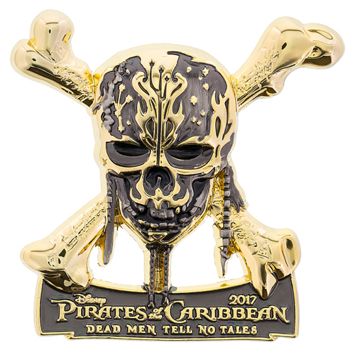 Disney Pirates Pin - Pirates of the Caribbean Dead Men Tell No Tales