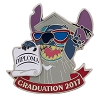 Disney Graduation Pin - 2017 Graduation Stitch - Class of 2017