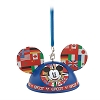 Disney Ear Hat Ornament - Mickey Epcot World Showcase Light-Up