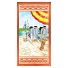 Disney Beach Towel - Mickey and Minnie on Vacation Wish You Were Here