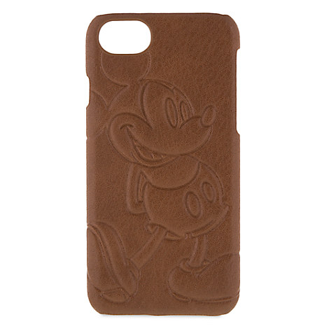 Disney iPhone Case -Mickey Mouse Leather iPhone 7 / 6 Case