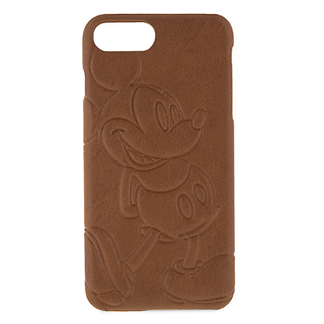 super popular 62a24 a8572 Disney iPhone Case - Mickey Mouse Leather iPhone 7 / 6 Plus Case