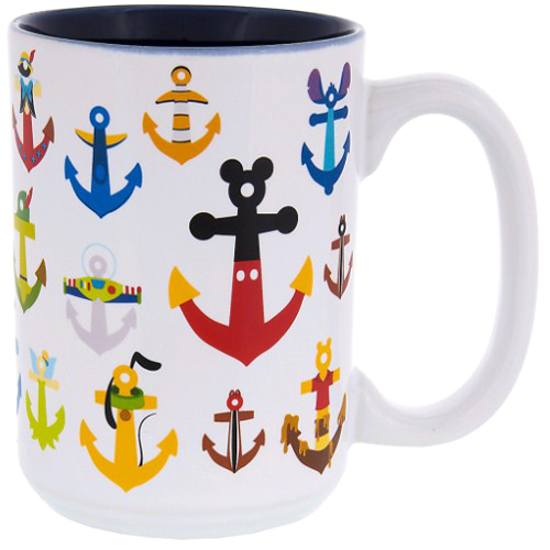 Disney Coffee Cup - Disney and Pixar Character Anchors