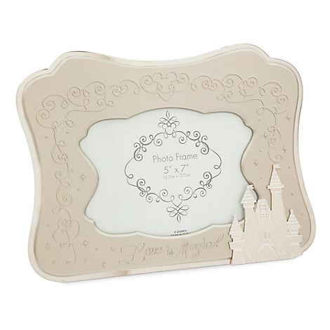 Your WDW Store - Disney Photo Frame - Love is Magical - Castle ...