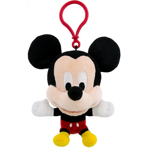 Disney Plush Keychain Mickey Mouse