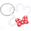 Disney Keychain - Minnie Signature Polka Dot Bow