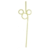 Disney Utensil - Mickey Mouse Straw - Ver. 2 - Yellow
