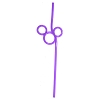 Disney Utensil - Mickey Mouse Straw - Ver. 2 - Purple
