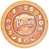 Disney Signage - EPCOT - Brews Around The World - Wooden Sign