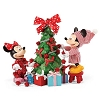Disney Department 56 Figure - Hung with Care - Mickey and Minnie