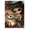 Disney Postcard - Rey and BB-8 by Jasmine Becket-Griffith