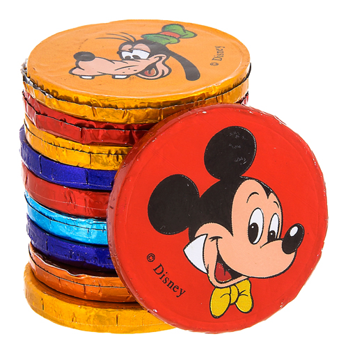 Disney Goofy Candy Co. - 10 Mickey & Pals Chocolate Coins