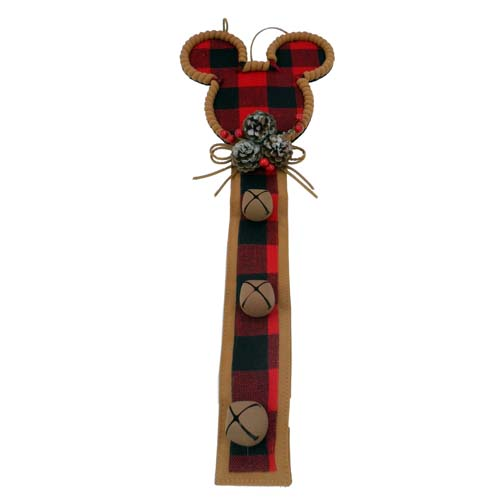 Disney Christmas Door Hanger - Mickey Mouse Ears - Wilderness Classic