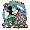 Disney Mickey Pin - My First Visit to Walt Disney World