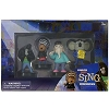Universal Playset - SING - Johnny, Ash, Buster, and Meena