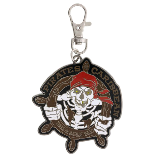 Disney Lanyard Medal - Pirates of the Caribbean There Be Squalls Ahead