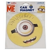 Universal Car Magnet - Despicable Me Round Minion Face