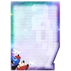 Disney Notepad - Magnetic 2017 Sorcerer Mickey