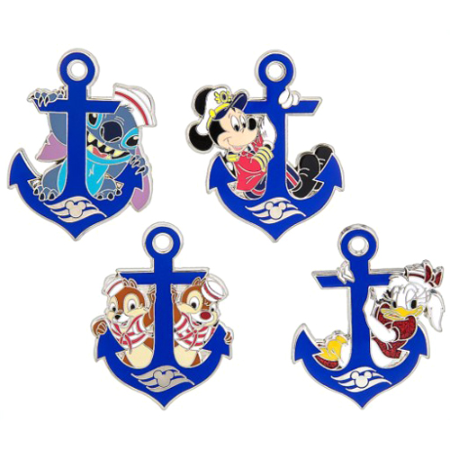 Disney Booster Pins Disney Cruise Line Character Anchors