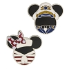 Disney Pin Set - Disney Cruise Line Mickey & Minnie Icons