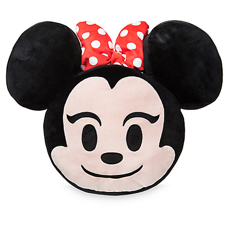 Disney Plush Emoji Pillow - Minnie Mouse - Large